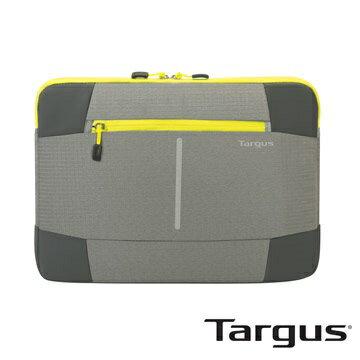 [免運] Targus Bex II 纖薄隨行電腦保護袋-灰黃色 (12.1