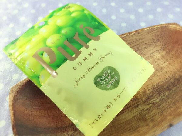 【13本舖】甘樂Pure 果汁QQ軟糖 (白葡萄/草莓)