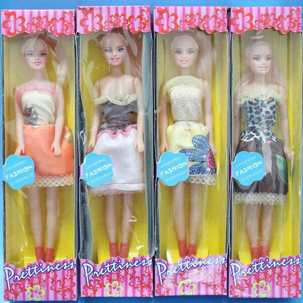 單入芭比娃娃 芭比娃娃玩具 空身芭比(盒裝)/一個入{促40}~錸006