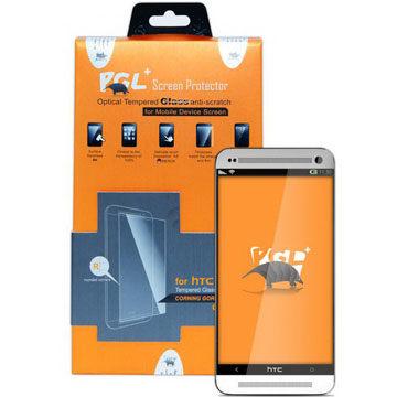{光華新天地創意電子}PGL+ hTC one M8 0.21mm 玻璃螢幕保護貼.  喔!看呢來