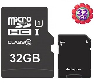 工業包 OEM 32GB 32G microSDHC【UHS 40MB/s】micro SD SDHC UHS-I Class 10 U1 C10 手機記憶卡 附SD轉卡 記憶卡