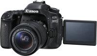 Canon佳能到Canon EOS 80D KIT (18-55) 彩虹公司貨  含稅價免運