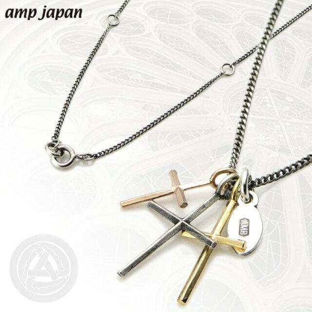 【海外訂購】【amp japan】三重十字架純銀項鍊(AMP-11AD-894 0567030000) 1
