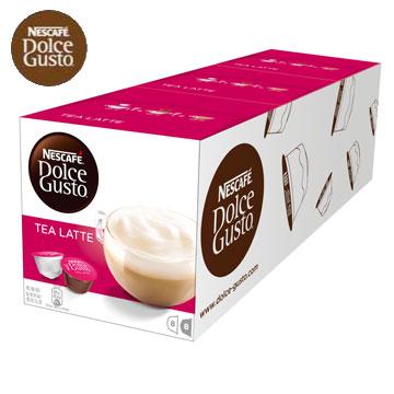雀巢 新型膠囊咖啡機專用 紅茶拿鐵膠囊 (一條三盒入) 料號 12187837 ★紅茶配牛奶的絕佳風味
