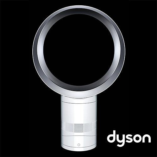 ★折價券現折 Dyson AM06 氣流倍增器 12吋 (時尚白) DC無刷節能馬達,節省能量 Dyson 無葉風扇