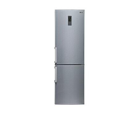 LG 350公升 Slim Fit 直驅變頻上下門冰箱 GW-BF380SV ◆精緻銀◆59.5公分窄版設計◆105/6/30前兌換送7-11商品卡