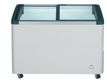 德國利勃 LIEBHERR 200公升 弧型玻璃推拉冷凍櫃 EFI-2053 附LED燈