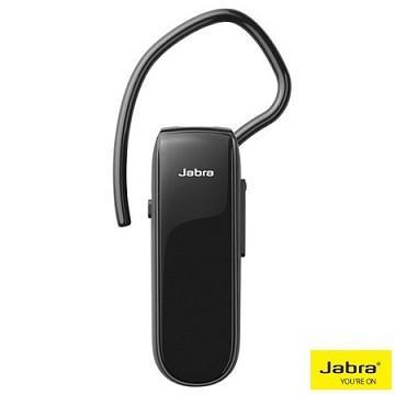 Jabra Classic 藍牙耳機(黑) 耳勾或符合人體工學原理的Eargels 耳塞使您可以舒適地佩戴一整天