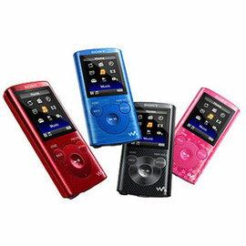 [展示出清]★限量贈USB充電器 SONY NWZ-E383 4G MP3 數位隨身聽 30小時不間斷收聽音樂 1.8吋液晶螢幕 MP4