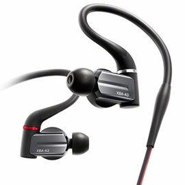 SONY XBA-A3 密閉入耳式耳機 16mm 動態型驅動單體+全音域平衡電樞單體 x1+超高音單體