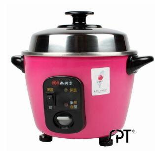 尚朋堂 3人份養生不鏽鋼電鍋 粉紅色 SSC-055RD