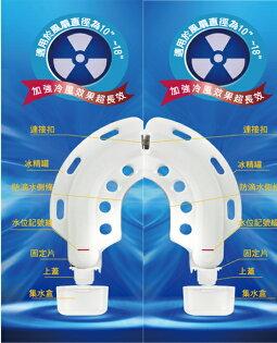 勳風 節能雙用晶片組 高效降溫冰晶盒 HF-1416H 防滴水設計