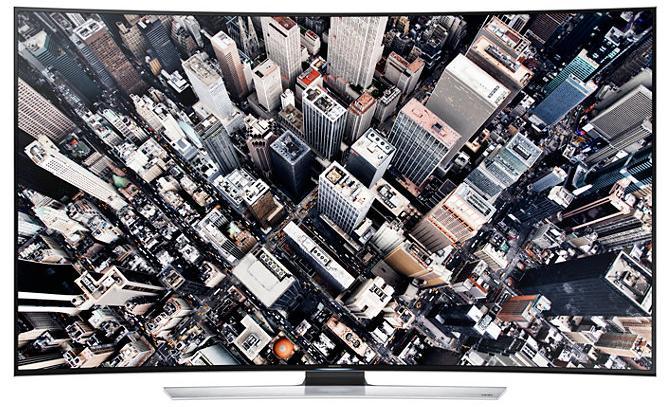 展示機出清! SAMSUNG 55型 黃金曲面 4K UHD 電視 UA55HU9000WXZW 55HU9000