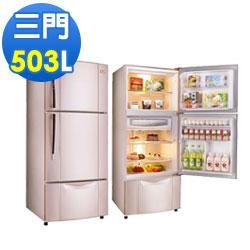 TECO東元 503公升變頻三門冰箱(R5061VXP)