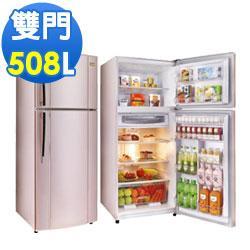 TECO 東元 508公升 變頻二門電冰箱 典雅粉 R5161XP  ★DC變頻控制-恆溫,省電,靜音