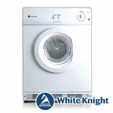 White Knight 600AW 6kg 滾筒式乾衣機 白色◆含到府基本安裝◆英國原裝進口★105/06/29前好禮二選一