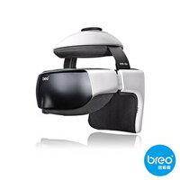 療癒按摩家電到Breo倍輕鬆 眼部/頭部按摩器 iDream3s 可調整頭圍,智能氣壓靜心導引 iDream 3s