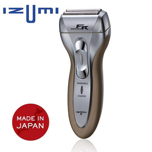 日本IZUMI銳角雙刀水洗電鬍刀 FR-200 日本原廠製造 全球一年保固 FR200
