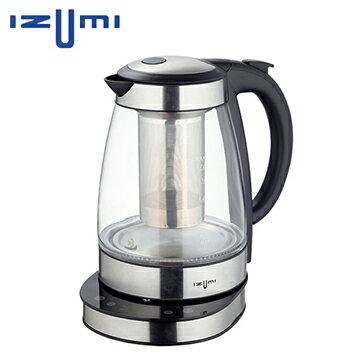日本 IZUMI 1.7L 智慧溫控健康電茶壺 TTM-100 ★汁渣分離設計,好清潔真便利