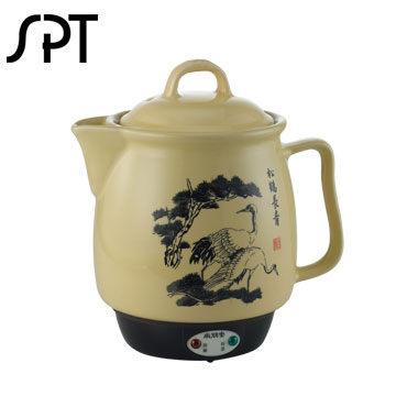 尚朋堂 3.8L陶瓷藥膳壺 SS-3200 不鏽鋼發熱體.不易氧化.易清洗