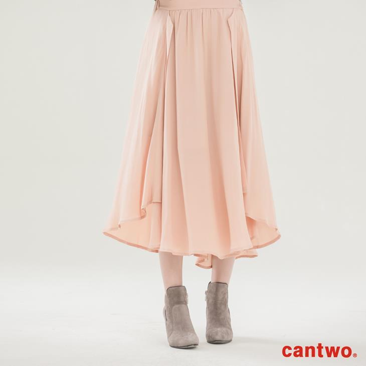 cantwo波浪不規則長裙(共二色) 0
