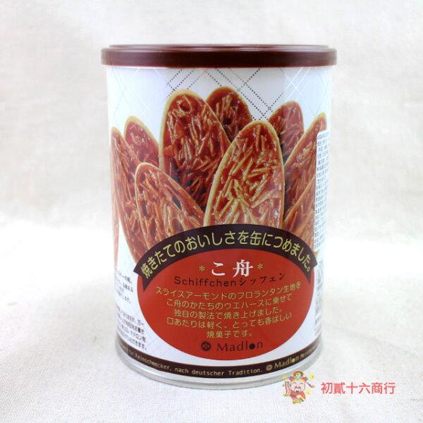 【0216零食會社】日本Madlon-船型餅罐120.4g