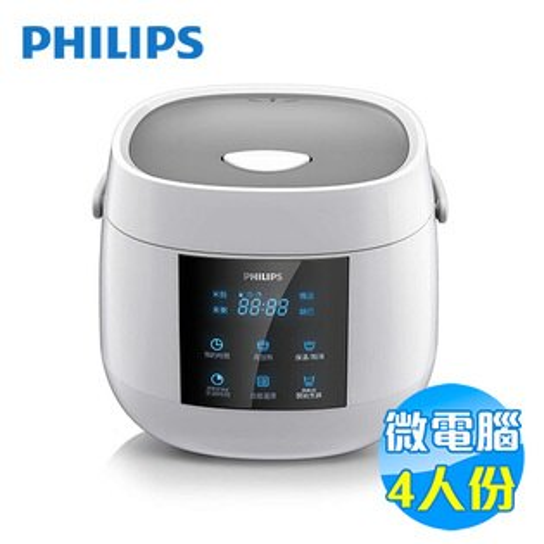 飛利浦 Philips 四人份 微電腦電子鍋 HD3160