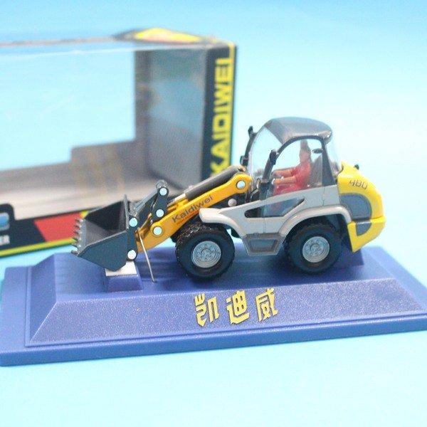 凱迪威 1:50 合金四輪輕型鏟車.推土機 625002 合金工程車 模型車 仿真汽車 一