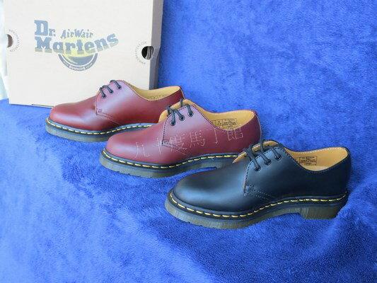 【九十度馬丁管】【免運】1461黑色、櫻桃紅、酒紅、酒紅擦色Dr. Martens 馬丁 靴子