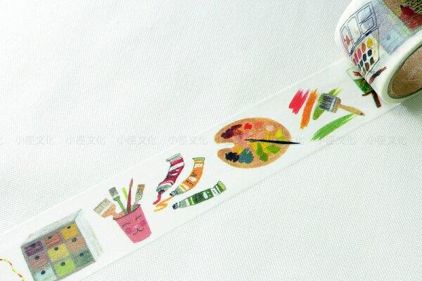 *小徑文化*日本進口 Aimez le style 2014ss 和紙膠帶 - Atelier ( JAN 2822 )
