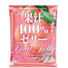 [即期良品]ACE Bakery 100%濃厚水蜜桃果汁果凍9入(135g)*賞味期限:2016/11/05*