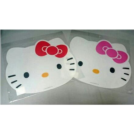 【敵富朗超巿】Hello Kitty造型餐墊 0