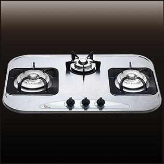 (喜特麗)三口檯面爐-JT-3002