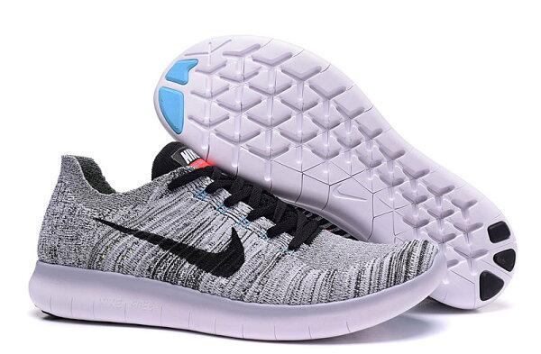 NIKE FREE RN FLYKNIT 831069系列 慢跑鞋 5.0 針織飛線 運動鞋 男鞋