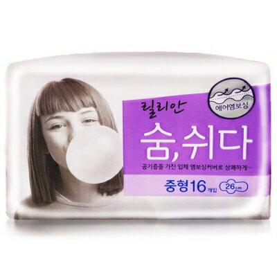韓國秀智代言-莉蓮3D衛生棉(26cm) K808