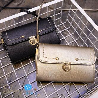 【P0518】shiny藍格子-獨特品味.時尚女包小包包郵差包小方包單肩包斜挎包