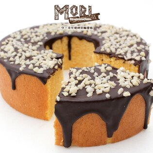【免運】73%比利時苦甜巧克力,濃郁的巧克力風味卻不甜膩!與經過22道烘烤,高成本採用天然香草莢的花月年輪蛋糕完美搭配 !