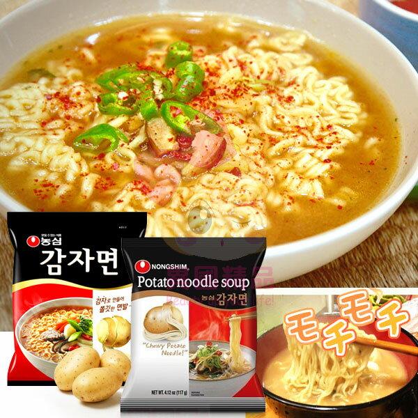 韓國 農心 馬鈴薯麵 泡麵 5入/袋【特價】§異國精品§