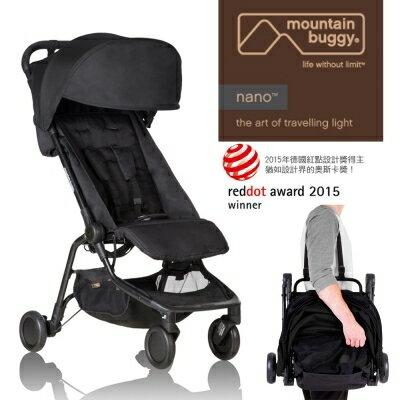 ★衛立兒生活館★Mountain Buggy 最新第二代nano手推車(紅/藍/黑)(口袋車)
