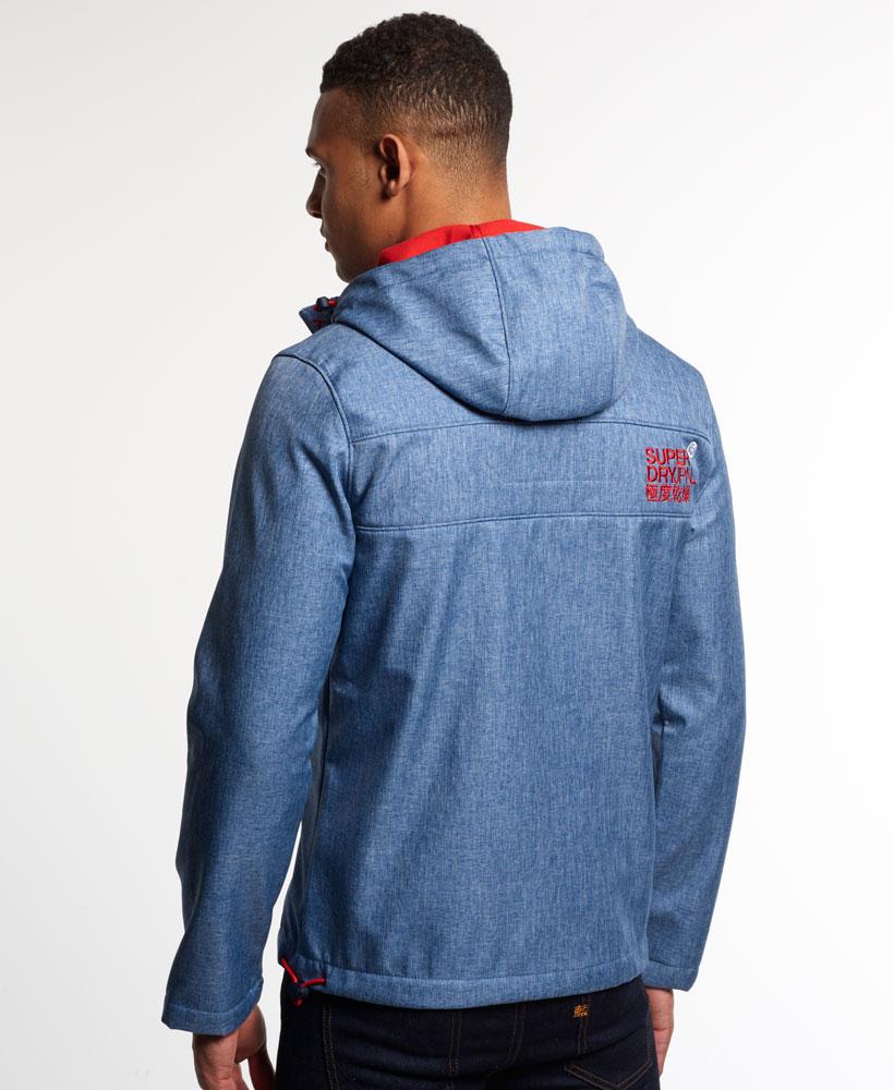 [男款] 英國名品 代購 極度乾燥 Superdry Windtrekker 男士風衣戶外休閒外套 防水 藍灰/叛逆紅 3