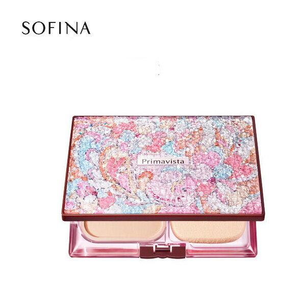 SOFINA蘇菲娜 Primavista  (2016限定版) Primavita 星燦樂園(桃漾粉) 限定粉餅盒《Umeme》