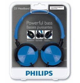 PHILIPS 頭戴耳罩式輕量型 耳機 SHL3000 (不挑色
