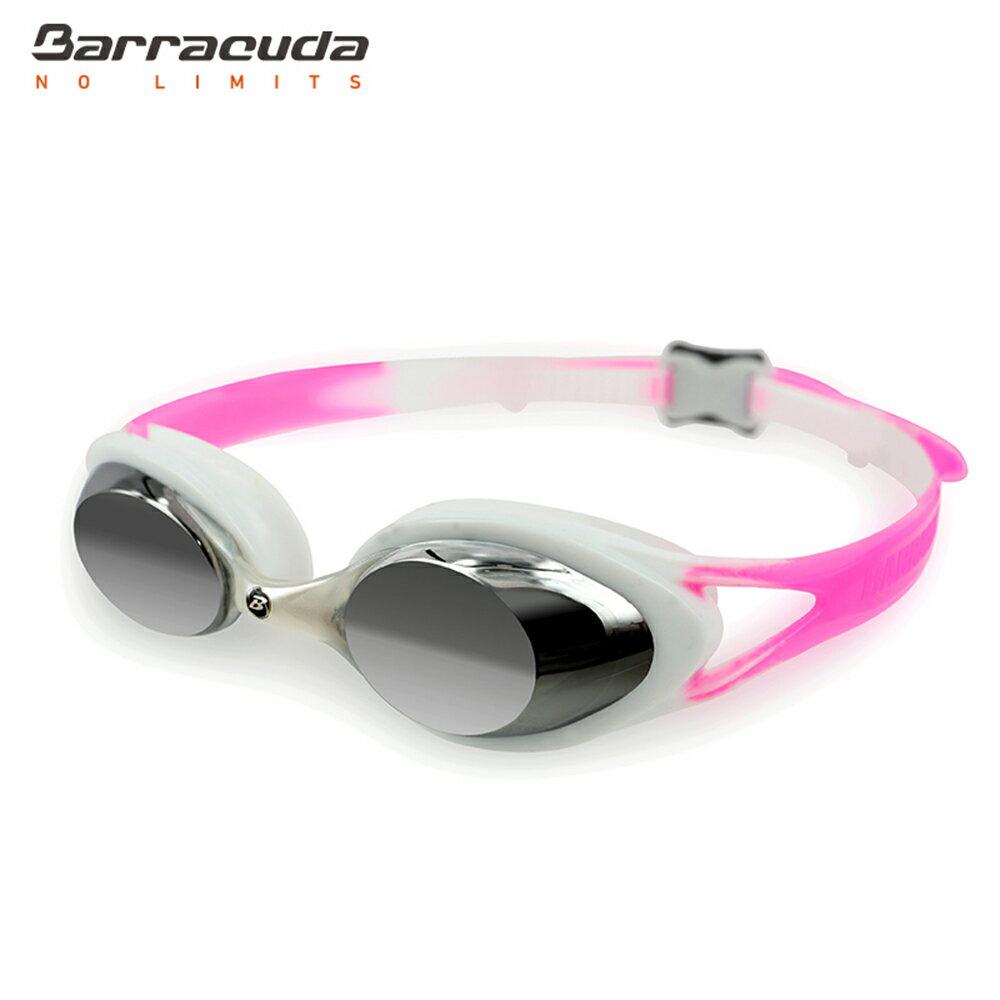 美國巴洛酷達Barracuda兒童抗UV電鍍泳鏡-CARNAVAL#34710 0