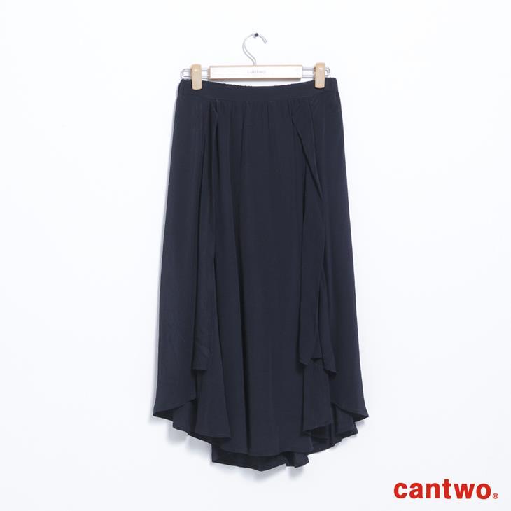 cantwo波浪不規則長裙(共二色) 6