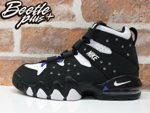 女生 BEETLE NIKE AIR MAX 2 CB'94 BARKLEY GD 黑紫 巴克利 309560-007 0