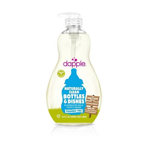 Dapple - 天然奶瓶及餐具清潔液 (無香精) 500ml 0