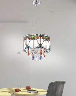 第凡內玻璃吊燈 E14 * 3