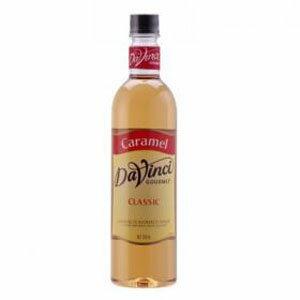 達文西焦糖風味 Davinci- 塑膠瓶750ml/罐【良鎂咖啡吧台原物料商】