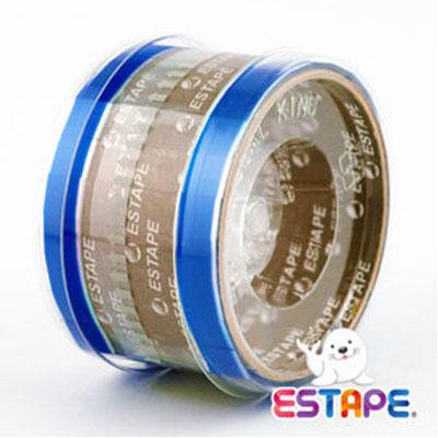 王佳膠帶 ESTAPE 免膠台抽取式HS1555B 易撕貼 藍/ 捲