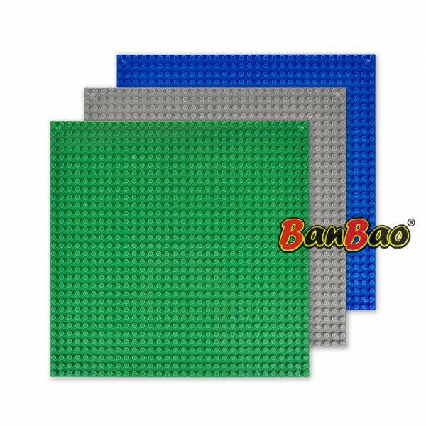 【BanBao 積木】其它配件-積木專用底板 8482 (共三款可選,樂高通用) (滿2000元再送積木回力車一盒)